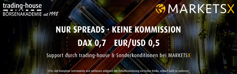 trading-house Support & MARKETSX Sonderkonditionen